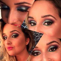 Sugestão de maquiagem para o Carnaval feito pelo Beauty Team da NYX Vitória