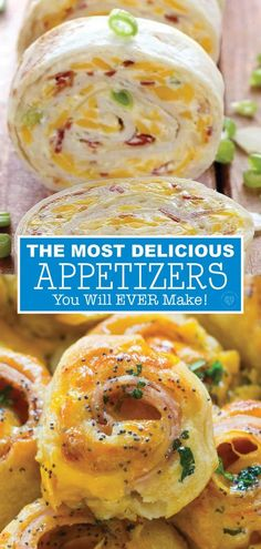 31 of The BEST Appetizer Recipes You Will Ever Make 34 crowd pleasing recipes for the Super Bowl! New Year's Eve Appetizers, Best Appetizer Recipes, Quick Appetizers, Finger Food Appetizers, Delicious Appetizers, Appetizer Ideas, Christmas Appetizers, Appetizers For New Years, Easy Party Finger Food
