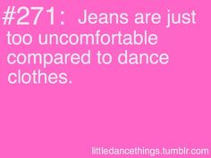 Dancing truths