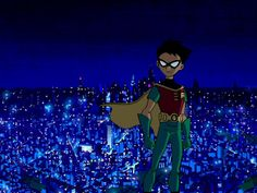 Robin teen titans trouble in tokyo Teen Titans Go Robin, Teen Titans Starfire, Nightwing And Starfire, Dc Comics, Original Teen Titans, Childhood Tv Shows, Teen Tv, Pokemon Cosplay, Teen Titans Go