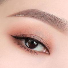 - My most beautiful makeup list Asian Makeup Looks, Korean Makeup Look, Korean Makeup Tips, Asian Eye Makeup, Korean Makeup Tutorials, Ulzzang Makeup Tutorial, Eyeshadow Tutorials, Kawaii Makeup, Cute Makeup