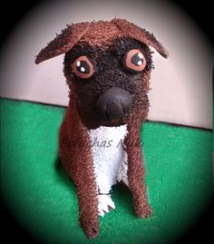 Perro de goma eva #fofucha #perro #dog #gomaeva #foamy #foamy3D