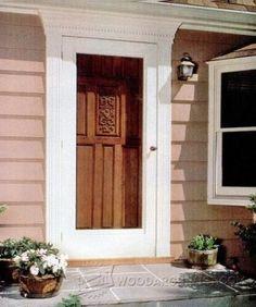 Making Wooden Doors - Door Construction and Techniques | WoodArchivist.com | Diy woodworks | Pinterest | Construction Doors and Woodworking & Making Wooden Doors - Door Construction and Techniques ...