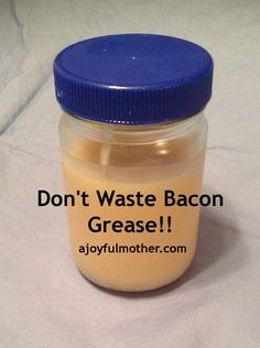 1000 images about bacon grease on pinterest bacon freeze and cooking. Black Bedroom Furniture Sets. Home Design Ideas