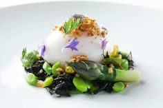 Canlis Restaurant Seattle, WA. Duck Egg photographed by Seattle Food Photographer Christine Cox, for New York Magazine