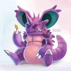 034 - Nidoking by TsaoShin on DeviantArt