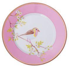Pip Studio Medium Bird Plate -  I Need!