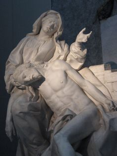 Pieta in  San Giovanni  Leterano in Rome.