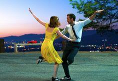 "Emma Stone talks learning to ballroom dance with Ryan Gosling: ""I sweat a lot."""