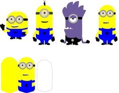 Minions Characters for Cricut Explorer - SVG