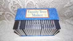 BRODERBUND FAMILY TREE MAKER 27 CD DELUXE EDIT. 7.0 WINDOWS/MAC FAMILY ARCHIVES+ #BRODERBUNDFAMILYTREEMAKER