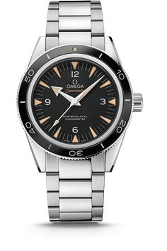 OMEGA Watches: Baselworld 2014. Amazing update! Almost like a planet ocean but with the clean design of a seamaster 300