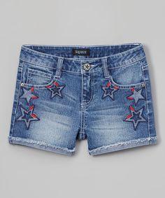 Love this Medium Stone Star Shorts on #zulily! #zulilyfinds
