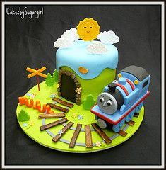 Best of the Web Thomas the Tank Engine Parties, Cakes and Food