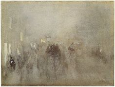 Brunner Sanina - Artist - James McNeill Whistle - Nocturne in gray and gold, Piccadilly, 1881 James Abbott Mcneill Whistler, Nocturne, Canadian Artists, American Artists, Joan Mitchell, Renoir, Amédéo Modigliani, Monet, Paintings