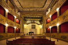 #teatro Garibaldi - #Mazara #travel #traveling #holiday #sicily #italy #visitsicily #theatre #accommodation #culture