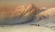 В отличие от многих других живописцев, посетивших Кавказ в это время и изображавших на холсте сражения, боевые походы, Занковского привлекали природа горного края,ее неповторимость. Неприступный, суровый Кавказ пленил художника...  Снежные вершины гор,уходящие в небеса, темные таинственные ущелья,горные стремительные реки, горные туманы,  горные рассветы и закаты-- вся эта красота на картинах художника По долгу службы художник объездил почти вс