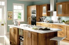 walnut style shaker kitchen cabinet doors fronts kitchens for