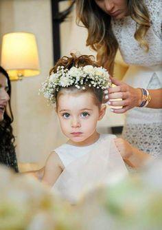 Wedding pajes crown