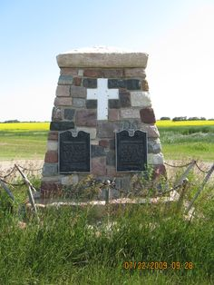 2009 - Memorial north of Redvers, SK - picture 1