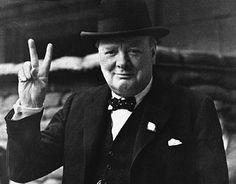 Churchill was an alcoholic because he had sold out his country to Illuminati Jewish bankers. The Victory Sign is really an occult symbol for their love of Satan or duality belief beyond good and evil?