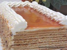 Слоёный медовый торт (Leyered Honey Cake)