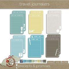 Travel Journal Printable {Travel Printables}