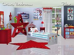 Circus Bedroom by Pilar - Sims 3 Downloads CC Caboodle