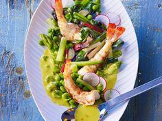 Bohnensalat mit Shrimps ist ein Rezept mit frischen Zutaten aus der Kategorie Garnelen. Probieren Sie dieses und weitere Rezepte von EAT SMARTER!