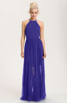 French Connection Sheer Overlay Halter Maxi Dress | Nordstrom http://shop.nordstrom.com/S/french-connection-sheer-overlay-halter-maxi-dress/3263266?origin=category=0==0