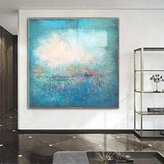 This abstract painting will adorn any modern interior and transform your home style! The artwork is a perfect choice for living room, dining room or hallway. Each painting we create is one of a kind and it will be made special for YOU. * Handmade oil acrylic painting * Express shipping 3-5 days worldwide * Any size up
