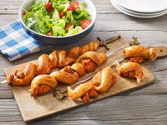Grillspieß mit Huhn und Brezenteig, ein sehr leckeres Rezept aus der Kategorie Geflügel. Bewertungen: 130. Durchschnitt: Ø 4,4.