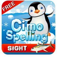 Winter themed spelling app.