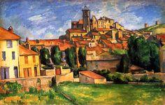 Gardanne Paul Cezanne - 1885-1886