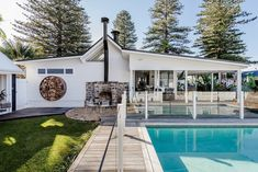 SOUL of Gerringong's 10 top holiday home ownership tips - The Interiors Addict Restored Farmhouse, Beach Shack, Backyard, Patio, Coastal Farmhouse, Home Ownership, Real Estate, Cottage, Look