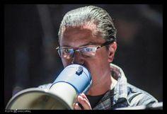 Mike Patton, at the Sacrum Profanum performance, Poland