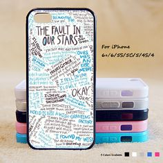 The Fault in Our Stars Phone Case For iPhone 6 Plus For iPhone 6 For iPhone 5/5S…