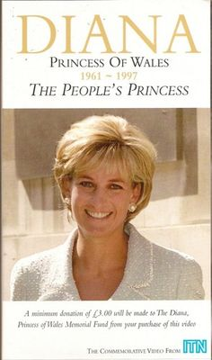 April 21, 1997: Diana, Princess of Wales pictured during the presentation of the 1st Rose to be named after her at the British Lung Foundation Offices in Hatton Garden, London.
