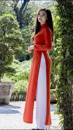 Vietnamese long dress Vietnamese Clothing, Vietnamese Dress, Vietnamese Traditional Dress, Traditional Dresses, Beautiful Long Dresses, Ao Dai, Gorgeous Women, Asian Beauty, Lady