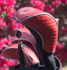 Golf Gear By Darcee Golf Club Headcovers, Golf Club Covers, Cork Fabric, Coordinating Colors, Golf Outfit, Sewing Techniques, Needle And Thread, Golf Bags, Golf Clubs
