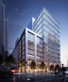Recent images show that the recladding and five-story expansion of the office building at 633 Folsom Street, SoMa is nearly complete. The new design is...