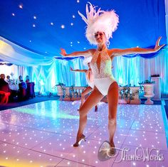 Think about adding entertainment to your Sparkle Christmas party