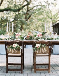 Mr And Mrs Chair Signs Rustic Wedding Mr and Mrs Signs Chair Signs Wood Decor Lilac Wedding, Diy Wedding, Wedding Bouquets, Dream Wedding, Wedding Backyard, Wedding Favors, Wedding Ceremony, Wedding Flowers, Wedding Venues