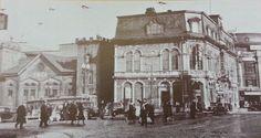 Photographie non datée de l'édifice du YMCA et de son pavillon de la rue des Glacis. Le cliché a été probablement réalisé entre 1935, où le poste CKCV déménage au Capitol (voir l'affiche au sommet du bâtiment) et 1947, où une partie de l'édifice du YMCA est réaménagé pour faire place au Cinéma de Paris. Tiré de Nicole Thibault, Le YMCA de Québec, 1854-1994: c'était hier et c'est demain, Québec, YMCA de Québec, 1994, p. 17. Chute Montmorency, Chateau Frontenac, Le Petit Champlain, Of Montreal, Canada, Quebec City, Vintage Pictures, Historical Photos, Old Photos