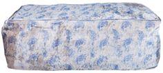 elements rectangle bean bag - blue ABC Carpet + Home NYC