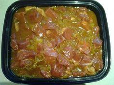 Kerrie Marinade vir Sosaties - Bak en Brou Braai Recipes, Lamb Recipes, Curry Recipes, Meat Recipes, Chicken Recipes, Cooking Recipes, Chicken Marinades, South African Dishes, South African Recipes