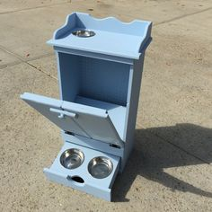 DIY Pet Feeding Station Cabinet                                                                                                                                                                                 More
