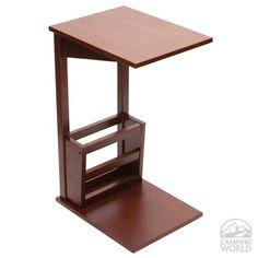 Sofa Server Table - Walnut