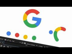 After Effects Tutorial - Google New Logo Animation in After Effect - YouTube