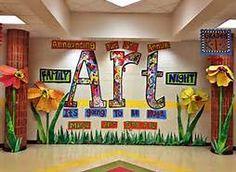 school art show display ideas - Bing Images